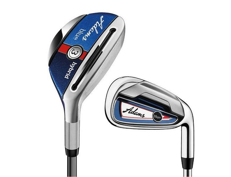 Adams 2015 Blue Combo Iron Set 2nd Swing Golf