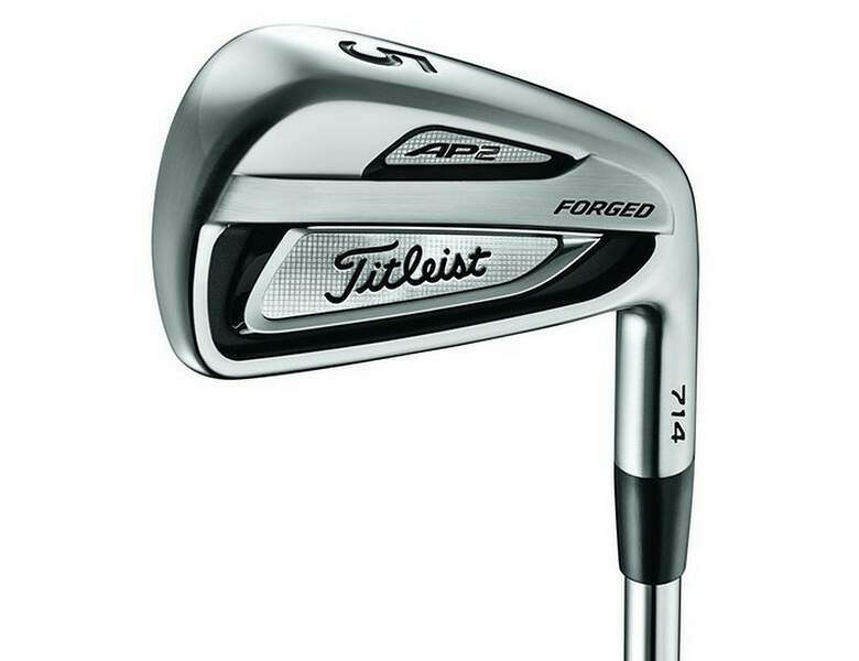Swinging titleist blades