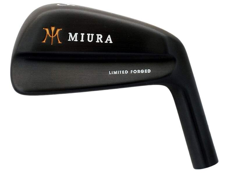 Miura Limited Forged Black Blade Iron Set 2nd Swing Golf