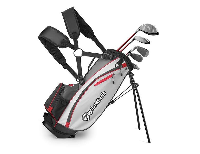 taylormade phenom k40 5 8 year old complete golf club set. Black Bedroom Furniture Sets. Home Design Ideas