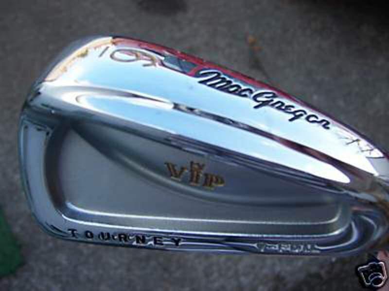Macgregor Vip V Foil Tourney 1025 Cm Iron Set 2nd Swing Golf