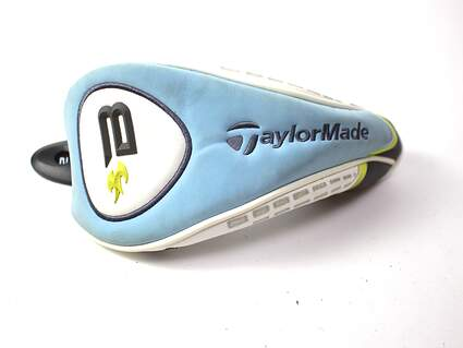 2008 Ladies TaylorMade Burner Blue Hybrid Headcover with Interchangable Tag