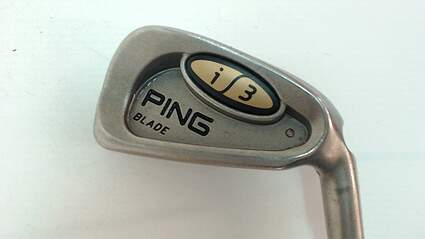 Ping i3 Blade Single Iron 4 Iron Steel Stiff Right 38.5 in Red dot