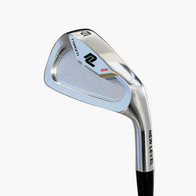 New Level 1031 Forged Satin Pearl Chrome Iron Set