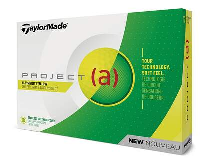 TaylorMade 2018 Project A Yellow Golf Balls