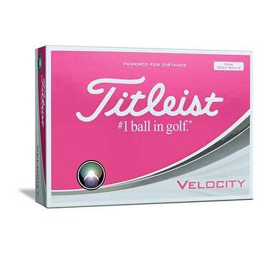 Titleist Prior Generation Velocity Pink Golf Balls