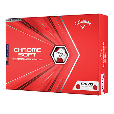 Callaway Chrome Soft 20 Truvis Golf Balls