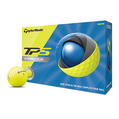 TaylorMade 2020 TP5 Yellow Golf Balls