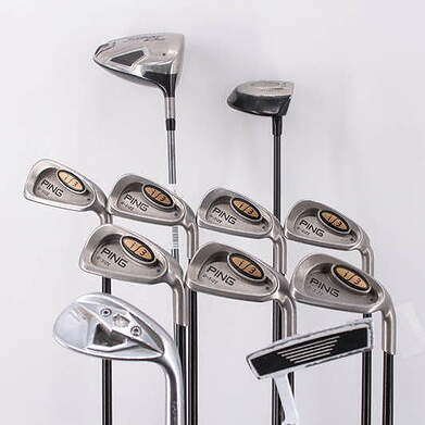 2nd Swing 300 Dollar Complete Golf Club Set