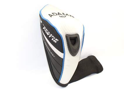 Adams Fast 12 Driver Headcover Head Cover Golf Black Silver Blue HC