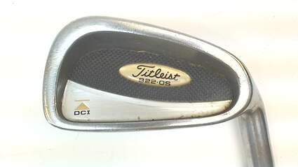 Titleist DCI 822 Oversize Single Iron 4 Iron Steel Regular Right 38.25 in