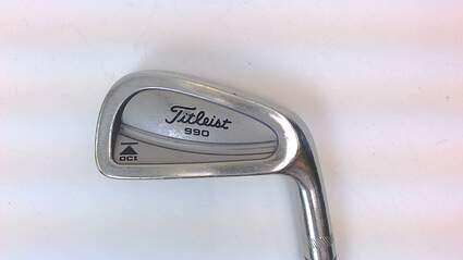 Titleist DCI 990 Single Iron 4 Iron Steel Regular Right 35 in