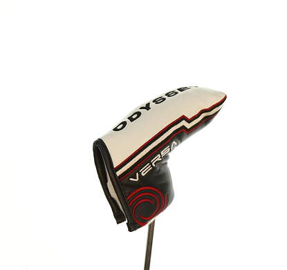 Odyssey Versa Blade Putter Headcover White/Black/Red