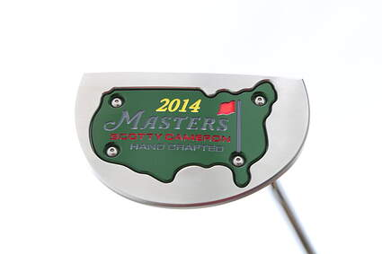 Mint Titleist Scotty Cameron 2014 Golo Masters Limited Edition Putter Right 35 in