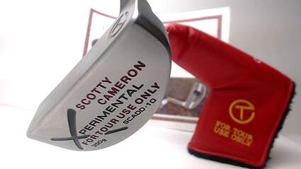 Mint Tour Issue Titleist Scotty Cameron Del Mar Xperimental Circle T Putter Right 34 in