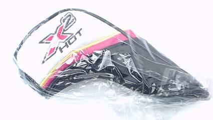 Callaway X2 Hot Hybrid Headcover Womens Ladies Black Pink 3 4 5 6 Adjustable Tag