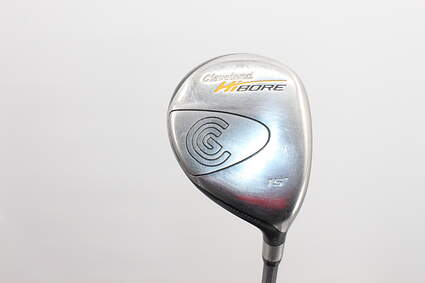 Cleveland Hibore Fairway Wood 3 Wood 3W 15* Stock Graphite Shaft Graphite Stiff Right Handed 41 in