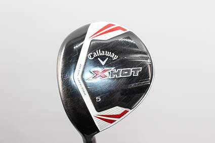 Callaway 2013 X Hot Fairway Wood 5 Wood 5W 19* Project X PXv Graphite Stiff Left Handed 42.5 in