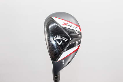 Callaway 2013 X Hot Hybrid 3 Hybrid 19* Callaway X Hot Hybrid Graphite Stiff Left Handed 41 in