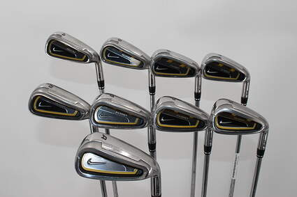 Nike Sasquatch Sumo Iron Set 4-PW GW SW Stock Steel Shaft Steel Regular Right Handed 38.5in