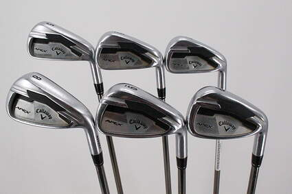 Callaway Apex Iron Set 5-PW UST Mamiya Recoil 660 F3 Graphite Regular Right Handed 38.0in