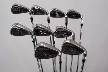 Nike Victory Red Pro Cavity Iron Set 4-PW SW LW Steel Uniflex Right Handed 39.0in