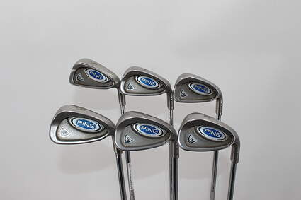 Ping i5 Iron Set 5-PW Stock Steel Shaft Steel Right Handed Black Dot 38.0in