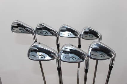 Callaway Apex Iron Set 5-GW UST Mamiya Recoil 760 ES Graphite Regular Right Handed 38.25in