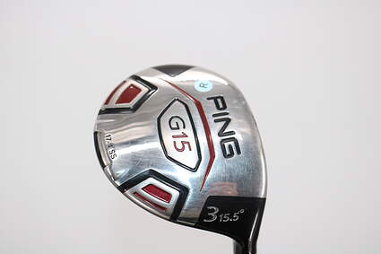 Ping G15 Fairway Wood 3 Wood 3W 15.5° Ping TFC 149F Graphite Regular Right Handed 43.0in