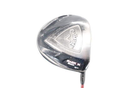 Callaway Razr X Black Driver 9.5° Fujikura Motore F1 Graphite Stiff Right Handed 45.5in