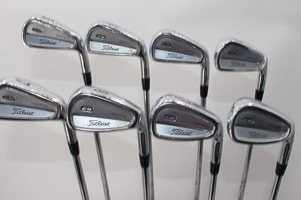Titleist 710 CB Iron Set 3-PW True Temper Dynamic Gold S300 Steel Stiff Right Handed 38.25in