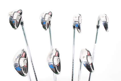 Nike Victory Red S Iron Set 4-PW Stock Steel Shaft Steel Stiff Right Handed 38.75in