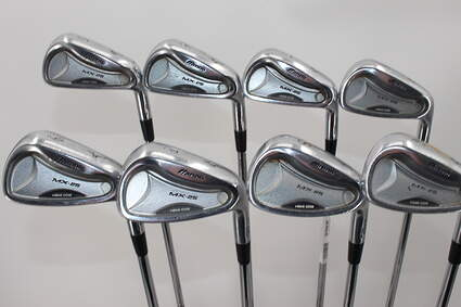 Mizuno MX 25 Iron Set 5-PW GW SW Dynalite Gold SL R300 Steel Regular Right Handed 39.0in