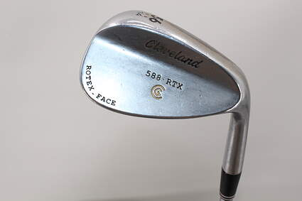 Cleveland 588 RTX Satin Chrome Wedge 56° 14 Deg Bounce Graphite Wedge Flex Right Handed 36.0in