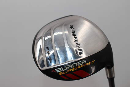 TaylorMade Burner Superfast Fairway Wood 4 Wood 4W 16.5° TM Burner Superfast 48 Graphite Senior Left Handed 42.0in