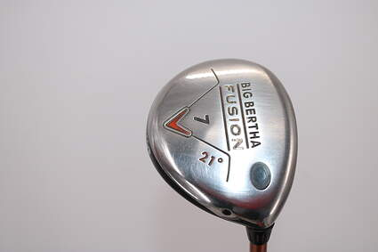 Callaway Big Bertha Fusion Fairway Wood 7 Wood 7W 21° Graphite Ladies Right Handed 41.0in