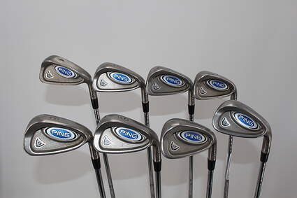 Ping i5 Iron Set 4-PW SW LW Stock Steel Shaft Steel Regular Right Handed 38.0in