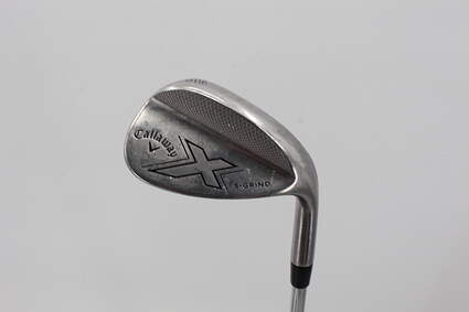 Callaway X Forged Wedge Sand SW 56° 10 Deg Bounce S Grind Callaway Stock Steel Graphite Wedge Flex Right Handed 35.0in