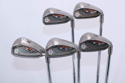 Ping G10 Iron Set 6-PW Stock Steel Shaft Steel Stiff Right Handed Blue Dot 38.0in