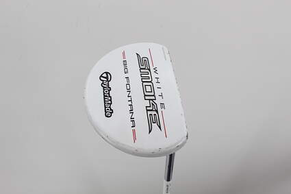 TaylorMade White Smoke Big Fontana Putter   Steel Right Handed 35.25in