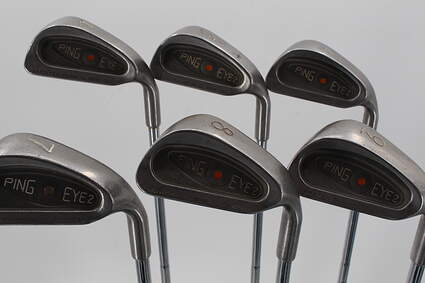 Ping Eye 2 Iron Set 4-9 Iron Ping ZZ Lite Steel Regular Right Handed Orange Dot 38.5in