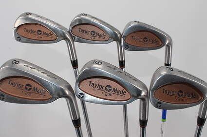 TaylorMade Burner LCG Iron Set 5-PW Stock Steel Shaft Steel Regular Right Handed 37.5in