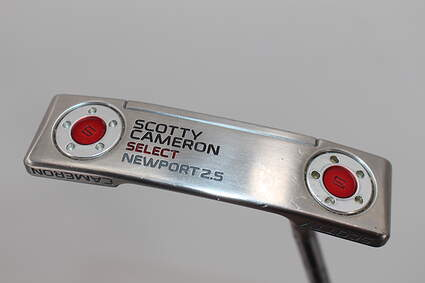 Titleist Scotty Cameron 2016 Select Newport 2.5 Putter Putter Steel Right Handed 35.5in