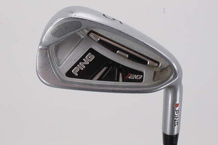 Ping I20 Single Iron 5 Iron Project X Flighted 6.5 Steel X-Stiff Right Handed Red dot 39.0in