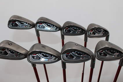 Ping K15 Iron Set 5-PW GW SW Ping TFC 149I Graphite Soft Regular Right Handed Green Dot 39.0in