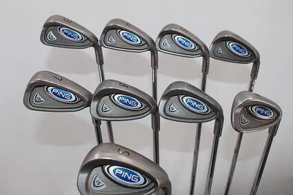 Ping i5 Iron Set 3-SW Steel Regular Right Handed Black Dot 38.0in
