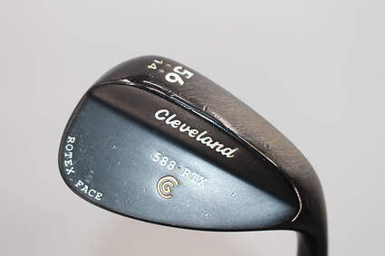 Cleveland 588 RTX Black Pearl Wedge 56° 14 Deg Bounce True Temper Dynamic Gold Steel Wedge Flex Right Handed 35.0in