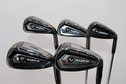 Callaway Razr XF Iron Set 6-PW Stock Steel Shaft Steel Regular Right Handed 37.75in