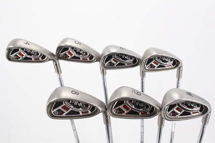 Ping G15 Iron Set 4-PW Stock Steel Shaft Steel Stiff Right Handed Black Dot 38.0in