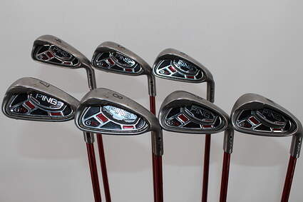 Ping G15 Iron Set Stock Graphite Shaft Graphite Regular Right Handed 38.0in